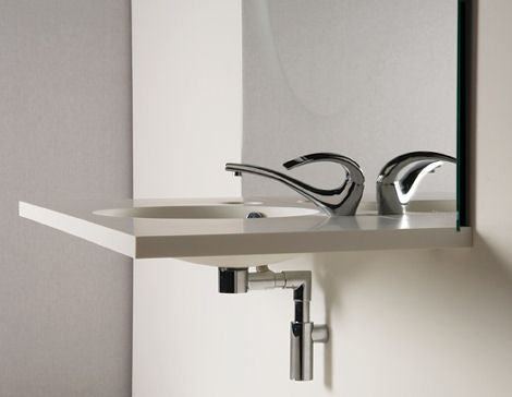 altro toyo ito bathroom collection New Toyo Ito bathroom Collection for Altro   Water flowing through forms