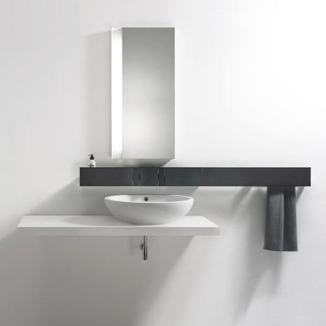aluminium faucet system agape sen Aluminium Faucet System from Agape   new Sen includes soap dispenser, towel holder and more