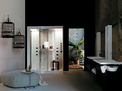aluminium shower cabin avec kos 10