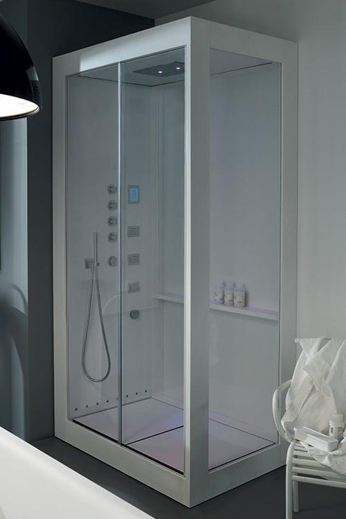 aluminium shower cabin avec kos 2