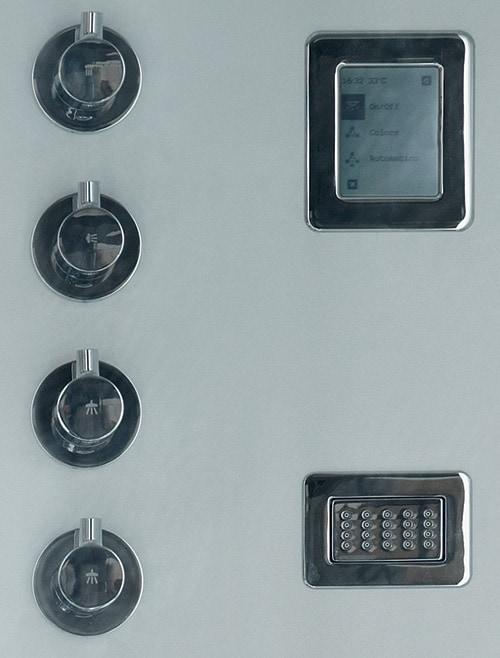 aluminium shower cabin avec kos 4