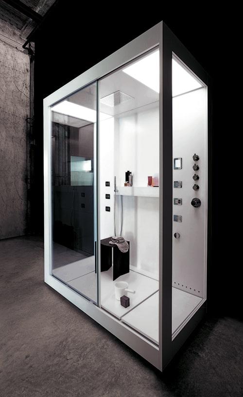 aluminium shower cabin avec kos 8