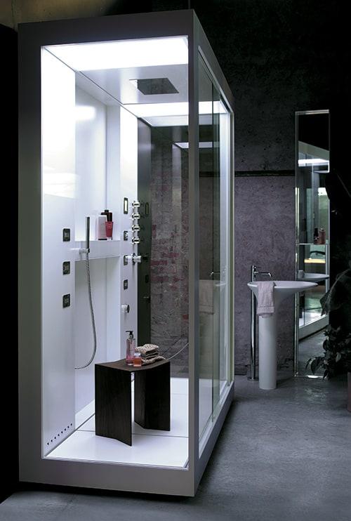aluminium shower cabin avec kos 9