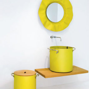 Aluminum Powder-coated Bathroom Sinks by Rapsel – Chef