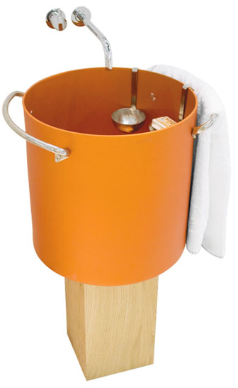 aluminum powder coated bathroom sinks rapsel chef 2 Aluminum Powder coated Bathroom Sinks by Rapsel – Chef