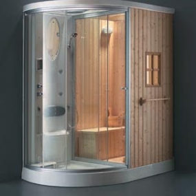 Steam room and shower combination by Alwin (Ningbo) Products