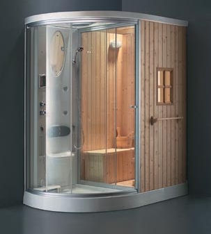 Alwin Steam Shower Combination Room And By Ningbo Products
