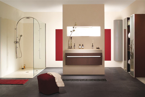 ambiancebain quadra bathroom Bathroom Furniture from Ambiance Bain   the Quadra