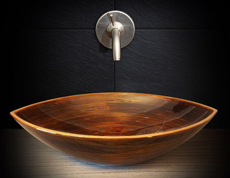 ammonitum wooden sink bootes 1 Beautiful Wooden Sinks for Modern Homes by Ammonitum