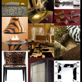 Animal Print Decor – latest patterns and trends