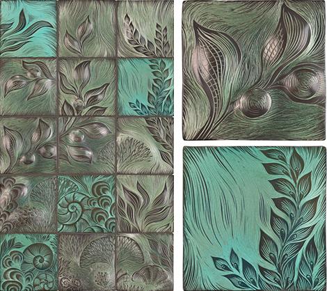 ann sacks tile mural backsplash 1