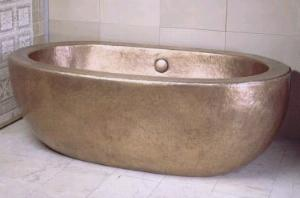 annsacks robert%20zho zen%20bath Ann Sacks Zen Copper bath by Robert Kuo   the art of copper
