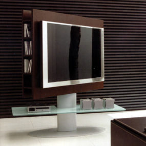 Wenge TV Hi-Fi Stand from Anora Home