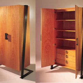 French style wood furniture by Antoine Proulx – a luxury contemporary armoire