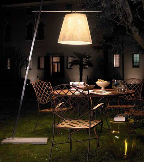Outdoor Lamp Shade – floor lampshade Miami by Antonangeli