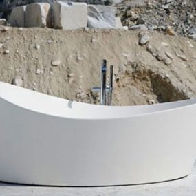 Circular Bathtubs – new round bathtub Dune by Antonio Lupi doesn't appear round