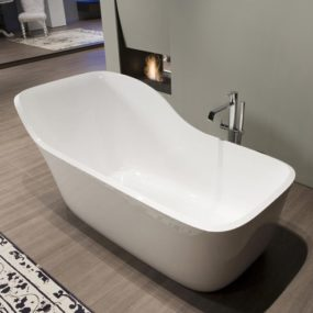 Stylish Bathtub by Antonio Lupi – new Wanda