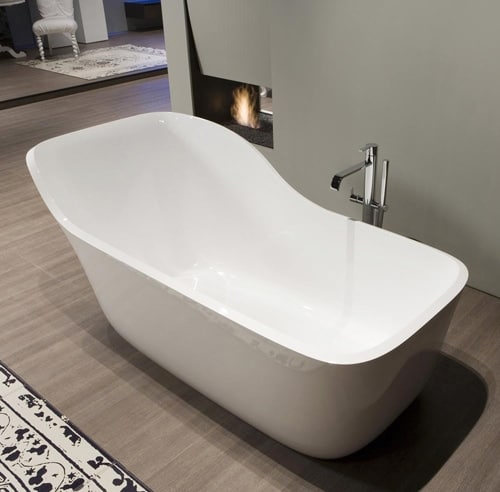 antonio lupi bathtub wanda 1 Stylish Bathtub by Antonio Lupi – new Wanda