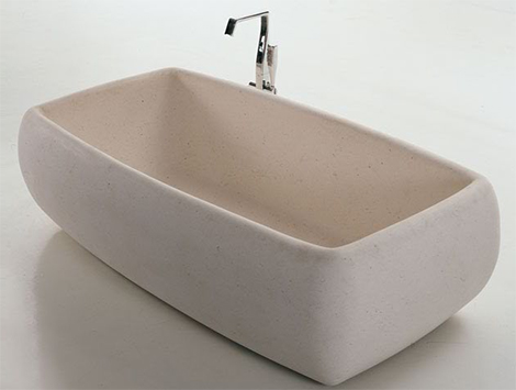 Antonio Lupi stone tub Cover