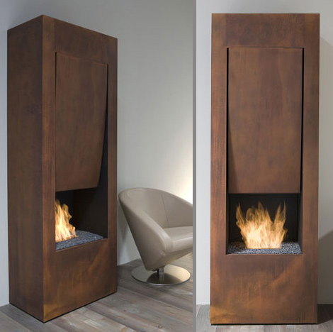 antonio lupi fireplace song of fire 2 Designer Ethanol Fireplace by Antonio Lupi   The Song of Fire