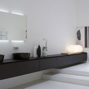 Modern bathroom from Antonio Lupi – the Panta Rei bathroom