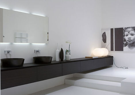 modern bathroom from antonio lupi the panta rei bathroom