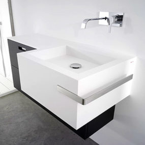 Point basin by Antonio Lupi Design – the new countertop with an integrated basin
