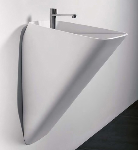 antonio lupi sink tratto 1 Unique Bathroom Sink   ultra modern sink by Carlo Colombo