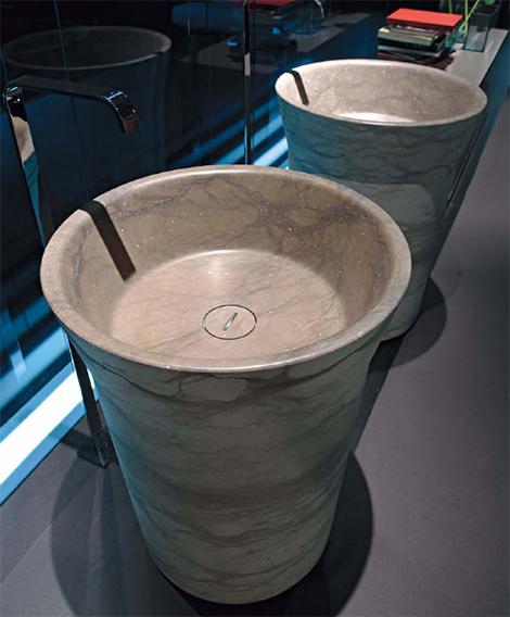 antonio lupi stone freestanding sink