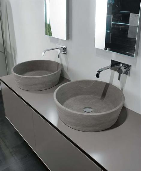 Antonio Lupi stone vessels