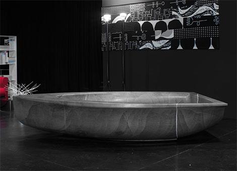 antonio lupi stone tub Antonio Lupi new Stone Bathroom 2008   sumptuous stone baths and sinks to suit any interior