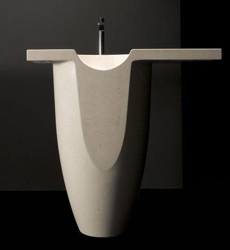 antonio lupi washbasin thalamus 5 Stone Wash Basins   designer stone sinks from Antonio Lupi