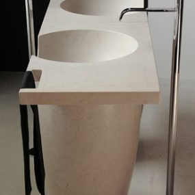 Stone Wash Basins – designer stone sinks from Antonio Lupi
