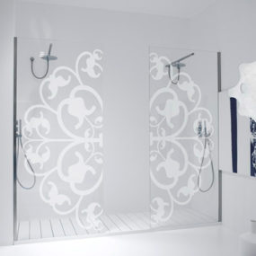 Decorative Shower Door – Shower Box doors from Antonio Lupi