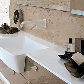 Apron Front Bathroom Sink beautifies new modern bathroom collection by Idea