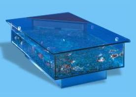 Coffee Table Aquarium by Aqua Design