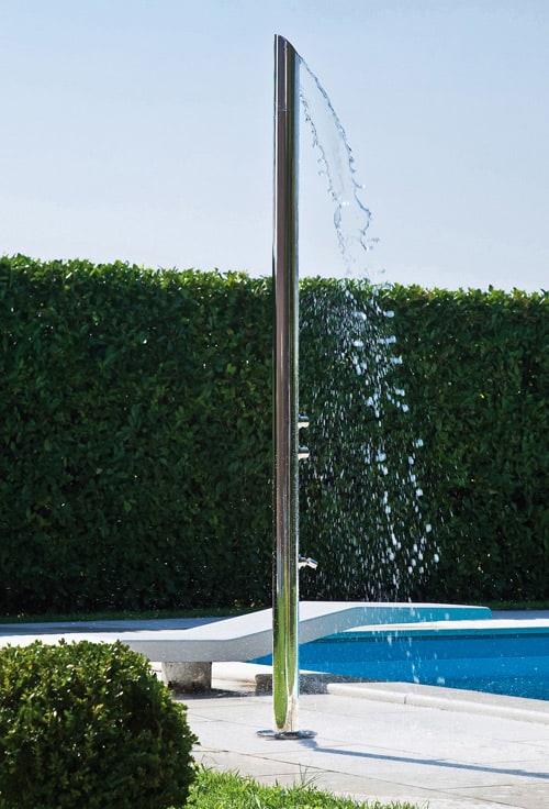 aquabambu outdoor shower column bossini inox 1 Outdoor Shower Column by Bossini – Aquabambu