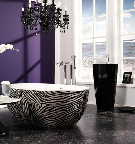 aquamass bathtub stone one 1 Leather Skirting Bathtub from Aquamass   Stone One luxe bathtubs