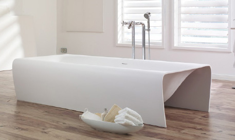 aquamass bathtub strip 2 Belgian Designed Bathtub from Aquamass – 'Strip' is perfectly sculpted
