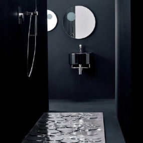 Contemporary Designer Shower Base by NIC Design from Aquaplus Solutions – the Optical Rectangular shower tray