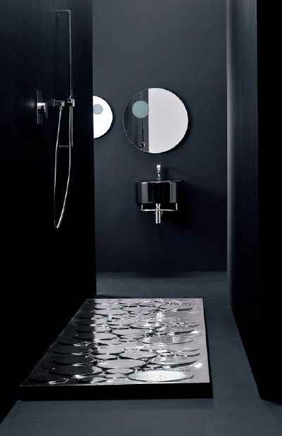aquaplus solutions black shower tray