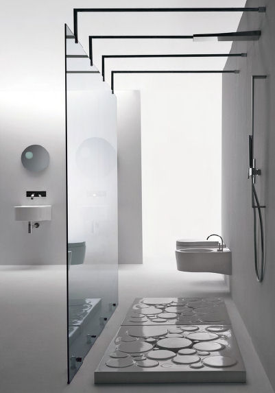 Contemporary Designer Shower Base By Nic Design From