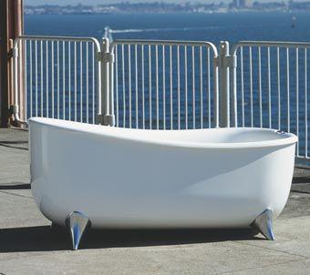 aqva design freestanding helsingor bath Helsingor Bath from AQVA Design   contemporary freestanding soaking tub