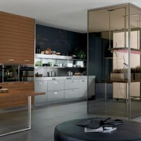 Arclinea Kitchen – Eco-compatible kitchen Italia with greenhouse