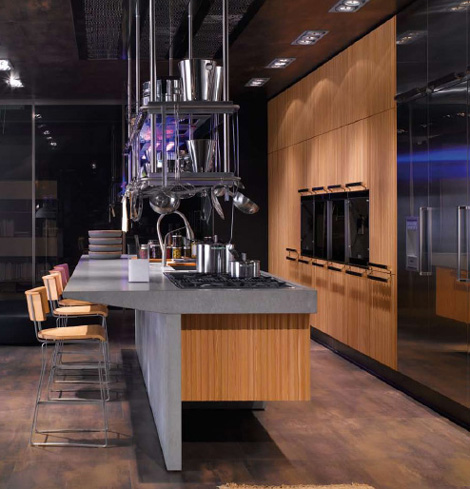 arclinea kitchen lignum et lapis 1 Arclinea Lignum et Lapis kitchen by Antonio Citterio   technological innovation and natural materials are sure to impress!