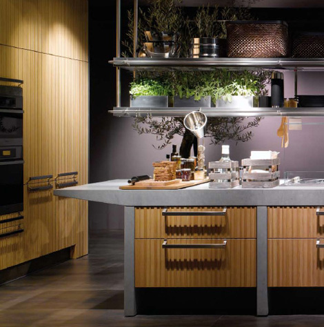 arclinea kitchen lignum et lapis 2 Arclinea Lignum et Lapis kitchen by Antonio Citterio   technological innovation and natural materials are sure to impress!