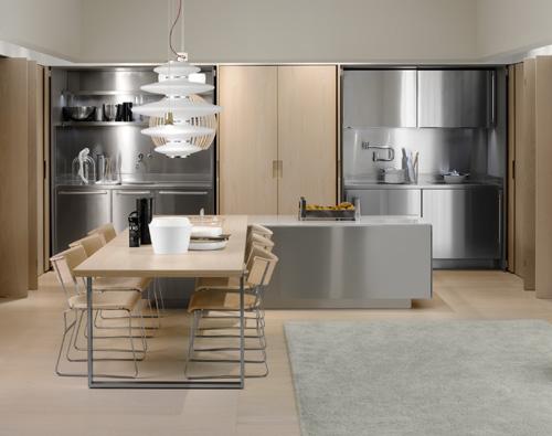 Hideaway Kitchen Spatia by Arclinea