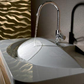 Eye-catching Sinks from Ardino – Dimara and Gadorno are modern classics…