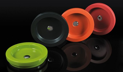 areaceramica washbasin expression 2 Colorful Decorative Wash Basins from Area Ceramica   new Expression series
