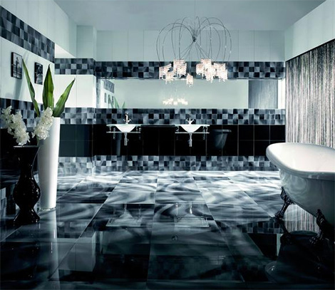 Italian glass tile from via arkadia new vetro glass tiles for Carrelage 60x60 brillant